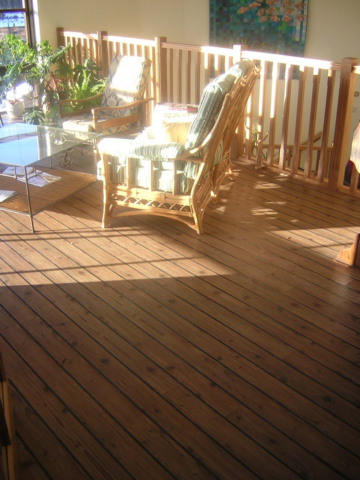 karndean woodplank with decking effect stripping